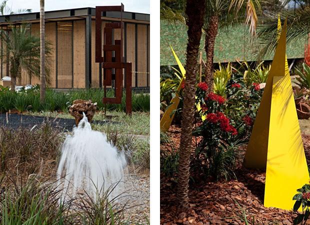 à esq., Jardim do Restaurante, por Daniela Infante e à dir., Jardim do Boulevard, por Cecilia Monarcha (Foto: Rodrigo Azevedo)