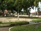 População denuncia abandono de academia ao ar livre em Ananindeua