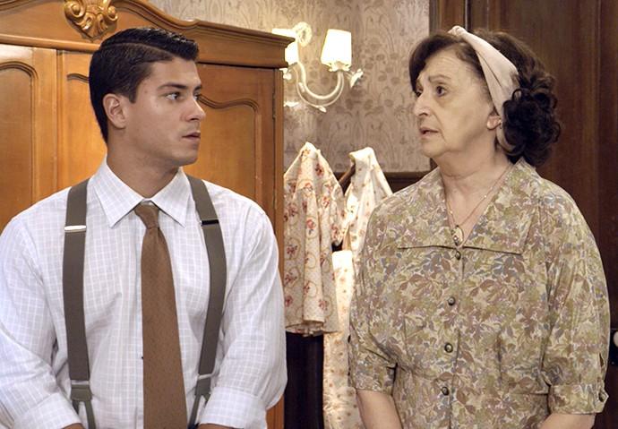 Osório e Camélia se preocupam com a saúde e os estudos de Gerusa (Foto: TV Globo)