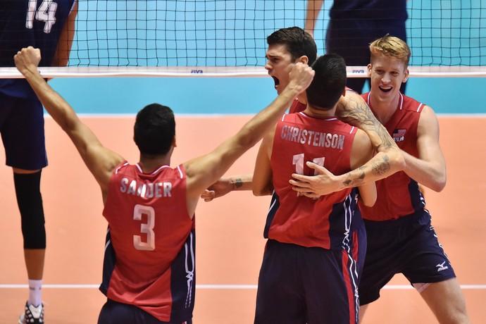Estados Unidos, Copa do Mundo, vôlei (Foto: Divulgação / FIVB)
