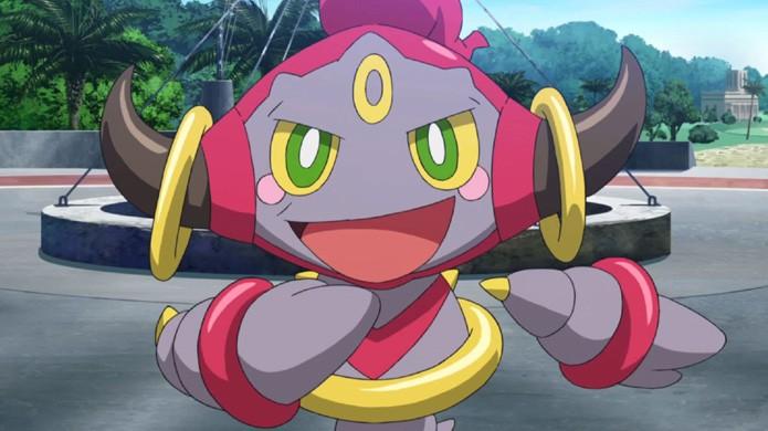 Hoopa é um lendário que possui uma forma alternativa bastante poderosa em Pokémon X & Y (Foto: Reprodução/YouTube)
