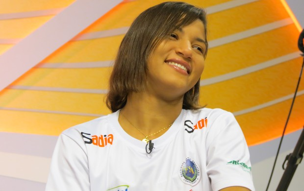 Sarah Menezes (Foto: Daniel Cardoso (Globoesporte.com))