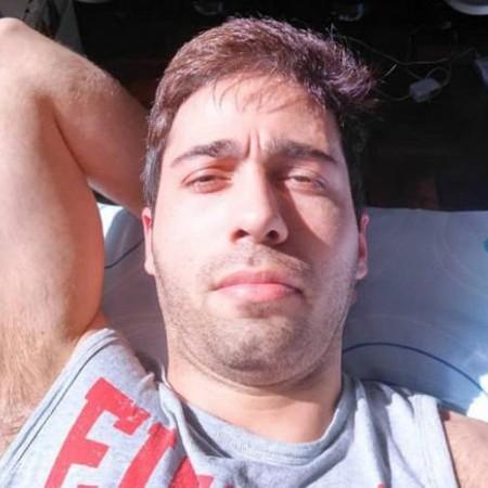 Essa é a foto do agressor Rodrigo Augusto de Pádua, que fez com que apresentadora se lembrasse que já o havia bloqueado nas redes sociais (Foto: Reprodução Instagram)