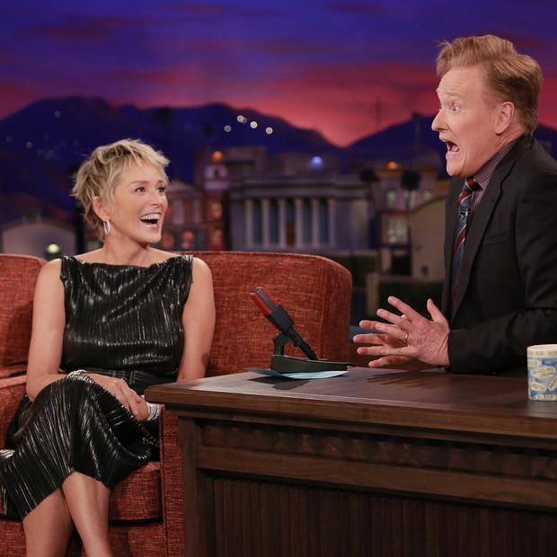 Sharon Stone veste Fabiana Milazzo (Foto: Reprodução/Instagram)