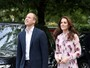 Look do dia: Kate Middleton usa vestido floral de R$1,6 mil em evento
