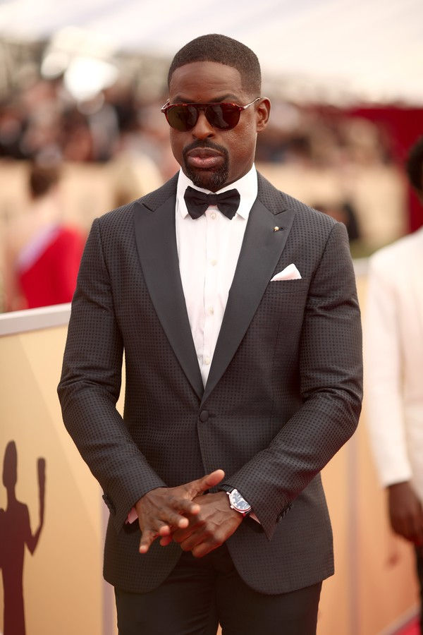 LOS ANGELES, CA - JANUARY 21: Actor Sterling K. Brown attends the 24th Annual Screen Actors Guild Awards at The Shrine Auditorium on January 21, 2018 in Los Angeles, California. 27522_010  (Photo by Christopher Polk/Getty Images for Turner Image) (Foto: Getty Images for Turner Image)