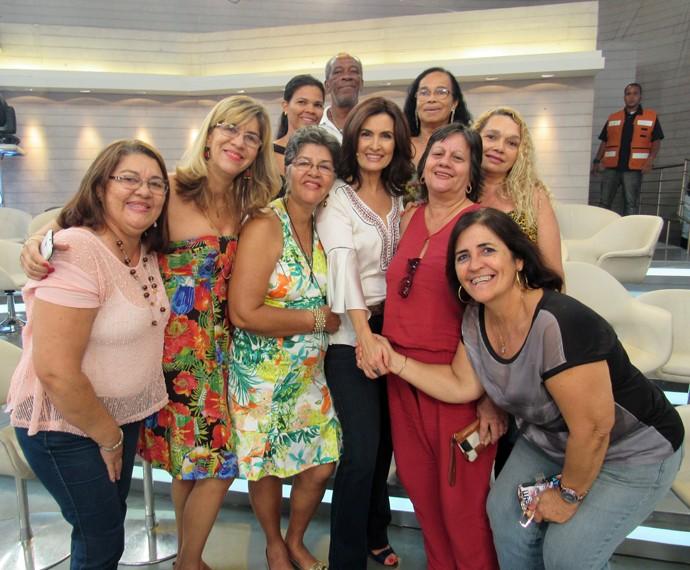 Mais plateia com a Fátima!  (Foto: Priscilla Massena/Gshow)