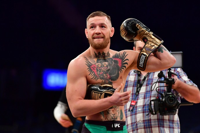 Conor McGregor, Treino aberto, UFC 205 (Foto: Jason Silva)