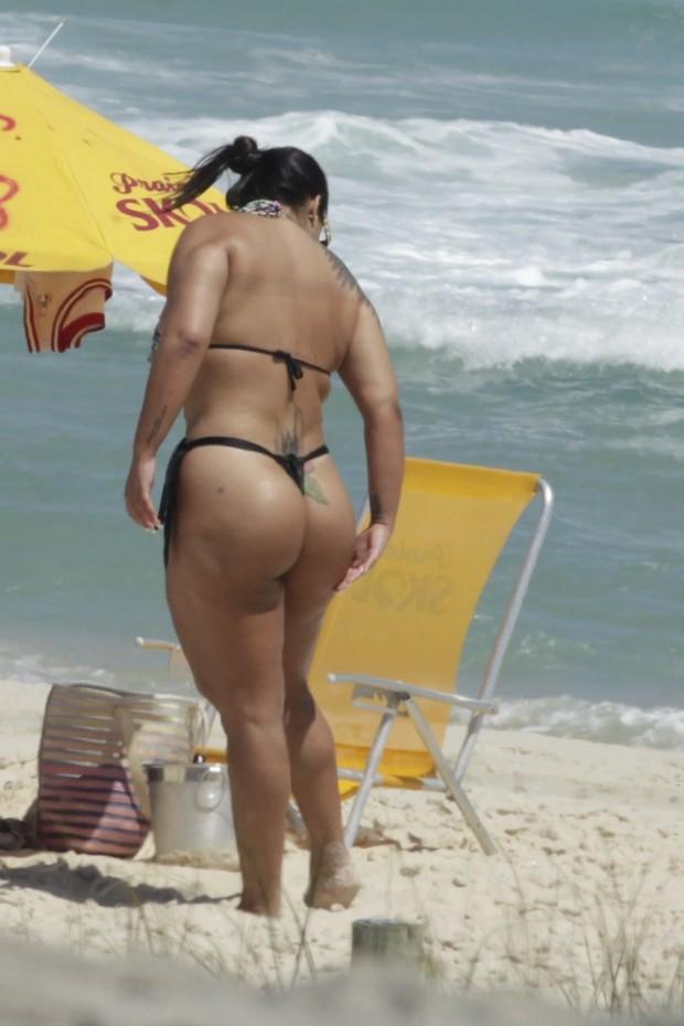 Andressa Soares, mulher melancia (Foto: Leoncio Apapinonbas/AgNews)