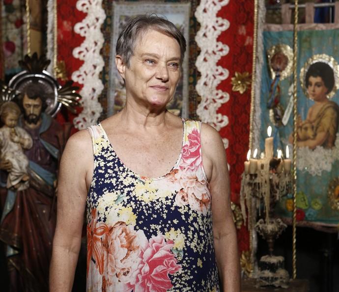 Selma Egrei fala de sua perosnagem em 'Velho Chico' (Foto: Inácio Moraes/Gshow )