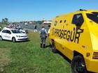 Polícia confirma família refém em assalto a carro-forte em Campinas
