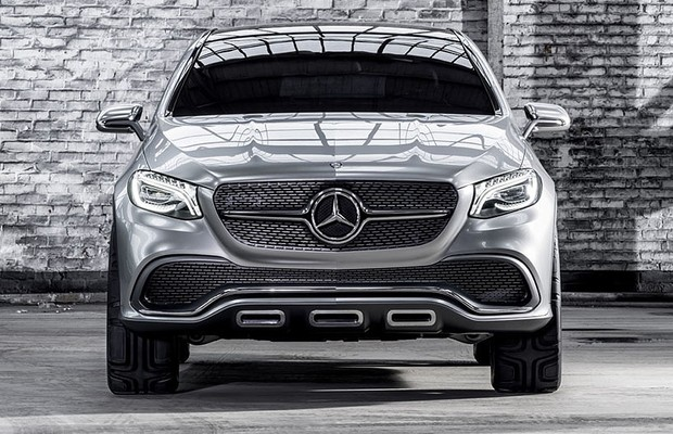 Mercedes-Benz Concept Coupé SUV (Foto: Mercedes-Benz)