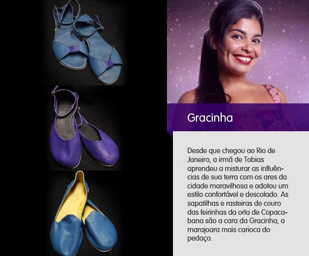 sapatos gracinha (Foto: Amor Eterno Amor / TV Globo)