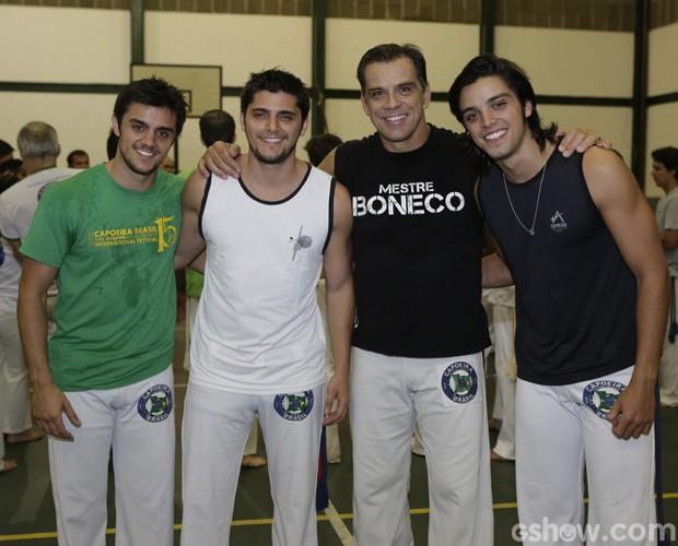 Família Simas (Foto: Domingão do Faustão / TV Globo)