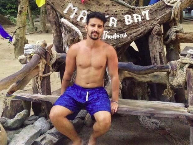O brasileiro Fernando Vieira Campello está desaparecido na Indonésia (Foto: Reprodução/Facebook/ Fernando Vieira Campello)
