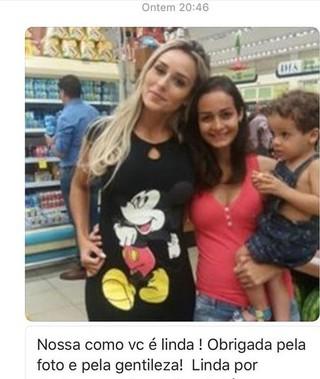 Letícia Santiago sobre pouca barriga (Foto: Instagram / Reprodução)