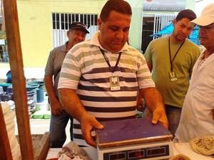 Fiscalização do Ipem aconteceu durante todo o mês de julho (Foto: Divulgação/Assessoria Ipem)