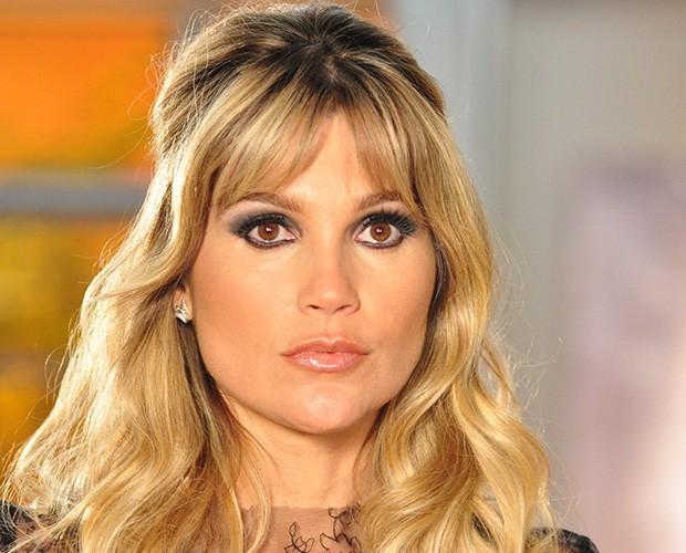 Naomi (Flávia Alessandra) na novela Morde & Assopra em 2011 (Foto: Estevam Avellar / TV Globo)