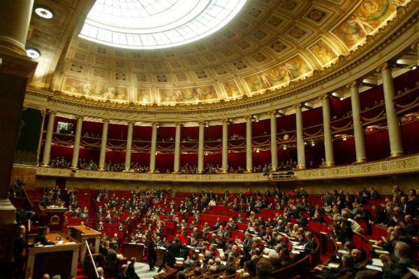Assembleia Nacional francesa (Foto: Getty Images)