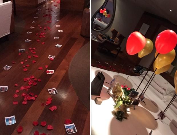 Mayra Cardi ganha surpresa de aniversário de Arthur Aguiar (Foto: Reprodução/Instagram)
