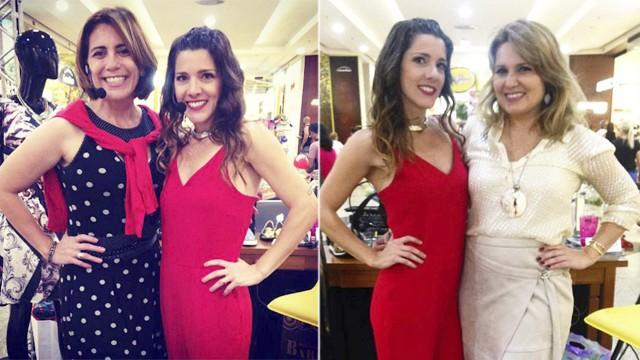 Rosana Valle e Vanessa Faro dão dicas de moda. (Foto: Arquivo pessoal)