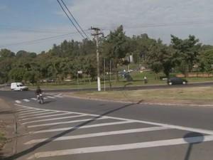 Trechos do anel viário e uma avenida são os locais, onde acontecem o maior número de acidentes (Foto: Reprodução EPTV)