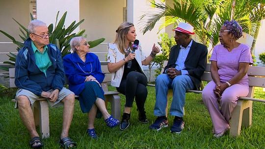 'Mistura' conversa com moradores do Asilo Padre Cacique; saiba como ajudar