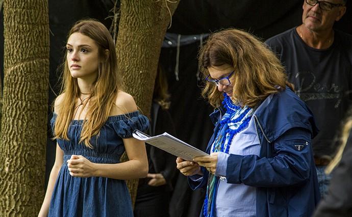Isabelle sob a direção de Denise Saraceni (Foto: TV Globo)