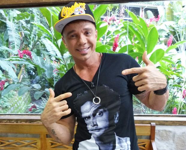 Netinho curte a nova fase carioca (Foto: Mais Você/ TV Globo)