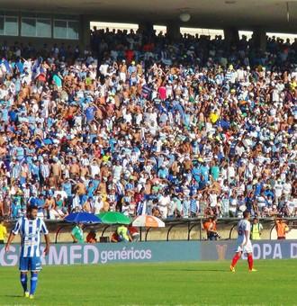 Rei Pelé registrou bom público na partida entre CSA e Bahia (Foto: Henrique Pereira/ GloboEsporte.com)