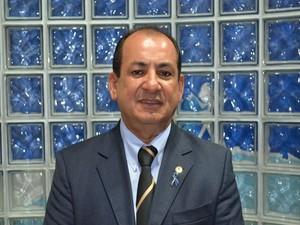 Valmir Monteiro (PSC), Líder da oposição, diz que acredita nos deputados  (Foto: Tássio Andrade/G1)