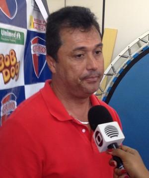Técnico China, Grêmio Prudente (Foto: João Paulo Tilio / GloboEsporte.com)