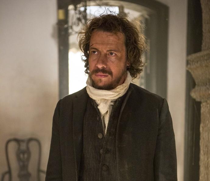 Rico Golnçalves interpreta Domingos de Abreu Vieira (Foto: Felipe Monteiro / Gshow)
