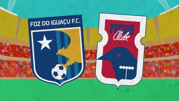 Futebol: domingo (20) tem Foz do Iguaçu X Paraná na tela da RPC (Foto: Reprodução/RPC)