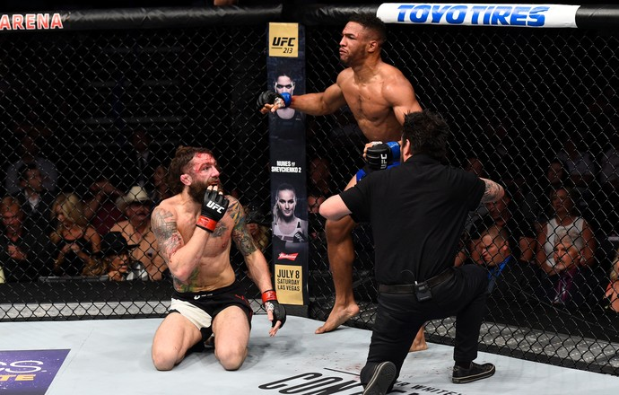 Kevin Lee x Michael Chiesa UFC Oklahoma (Foto: Getty Images)