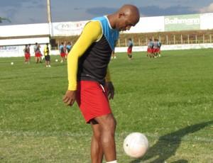 Guarani de Juazeiro, treino, Moré (Foto: Juscelino Filho)