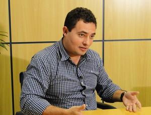 Alexandre Mattos, diretor de futebol do Cruzeiro. (Foto: Gabriel Medeiros / Globoesporte.com)
