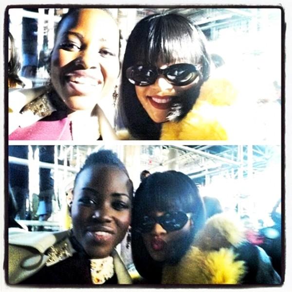 Lupita Nyong'o e Rihanna  (Foto: Instagram)
