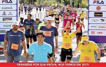 Maratona de São Paulo será no dia 9 de abril, e as inscrições estão abertas