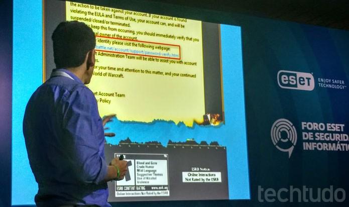 Golpes de phishing por e-mail que levam a sites maliciosos de falsas redes de game online (Foto: Melissa Cruz / TechTudo)