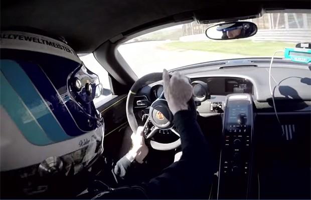 Piloto de rally bate Porsche 918 Spyder (Foto: Reprodução)