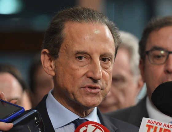 O presidente da Federação das Indústrias do Estado de São Paulo (Fiesp), Paulo Skaf (Foto: Antonio Cruz/Agência Brasil)