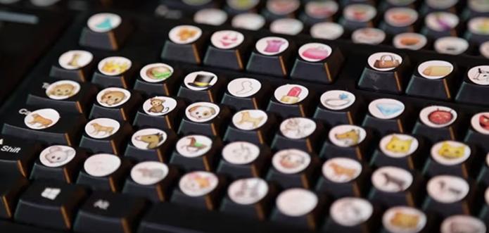 Teclado Emoji traz todos as figurinhas existentes, inclusive as estreadas pelo Unicode 8 (Foto: Divulgação)