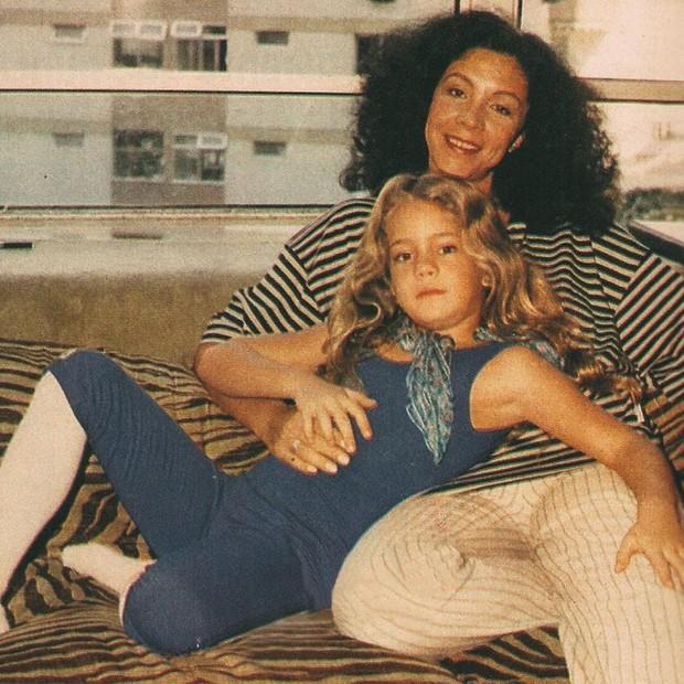 Leandra Leal e sua mãe, Ângela (Foto: reprodução/Instagram)