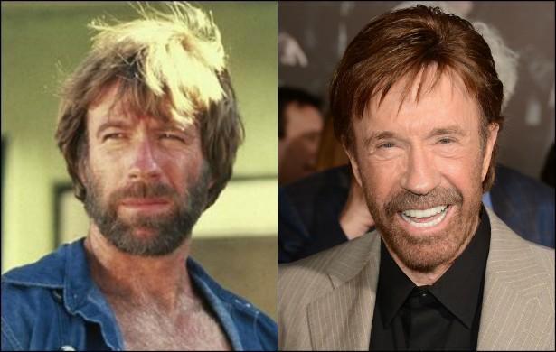 Um dos mais idolatrados atores de filmes de ação de todos os tempos, Chuck Norris já tinha 43 anos de vida quando estrelou 'McQuade, o Lobo Solitário' (1983). Hoje o herói é um senhor de 74. (Foto: Getty Images)