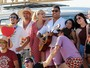 Ronaldo Fenômeno e Celina Locks curtem férias na Espanha