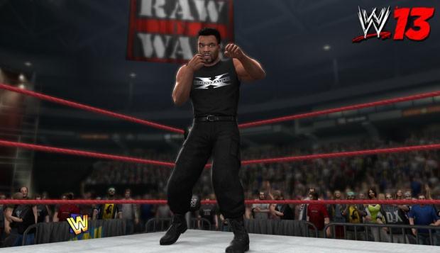 'WWE 13' terá o ex-lutador de boxe Mike Tyson brigando nos ringues de luta livre (Foto: Divulgação)