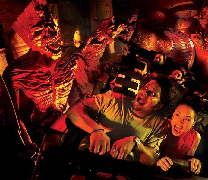 Atrações são inspiradas em famosas produções do cinema (Foto: Divulgação)