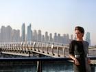 De visual novo, Sophie Charlotte vibra com gravação em Dubai: 'Abençoada'
