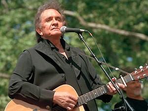 O cantor Johnny Cash (Foto: AP)